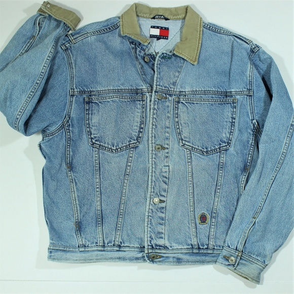 Tommy Hilfiger Other - Vintage Tommy Hilfiger Jean Denim Trucker Jacket M